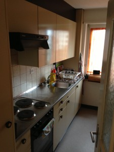 Küche vorher 1